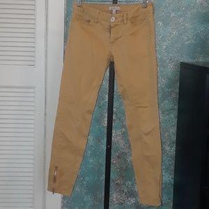 Banana Republic tan colored skinny pants